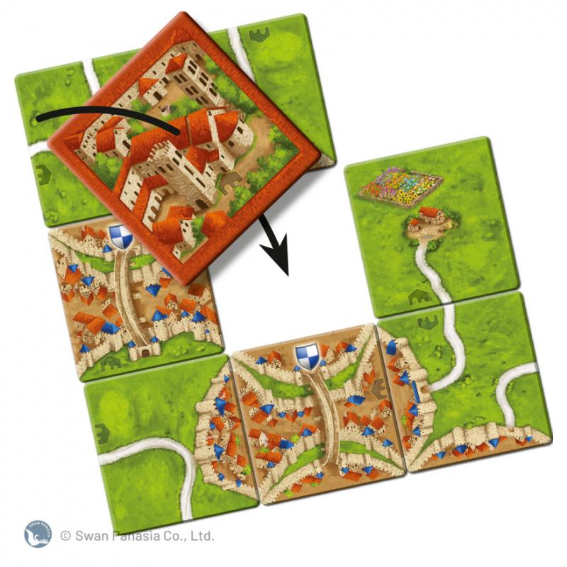Carcassonne 2.0 Abbey & Mayor 卡卡頌2.0僧院與市長