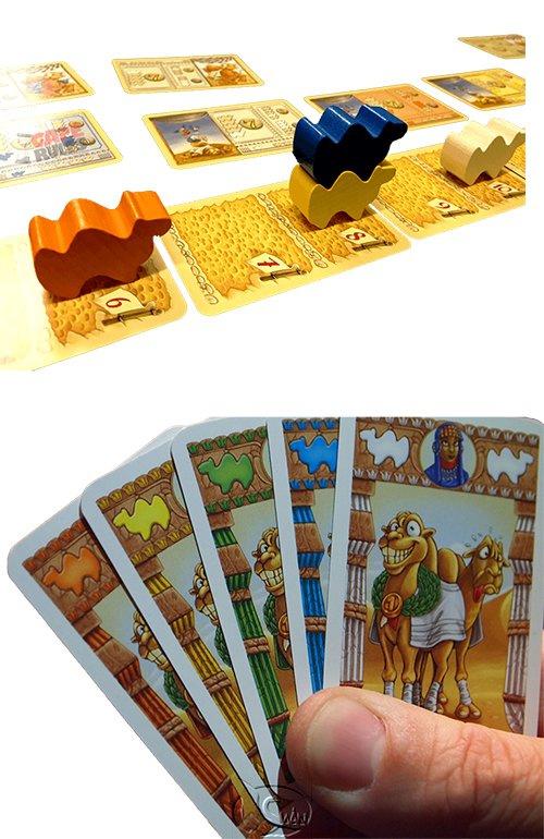 Camel Up Cards 駱駝大賽紙牌版