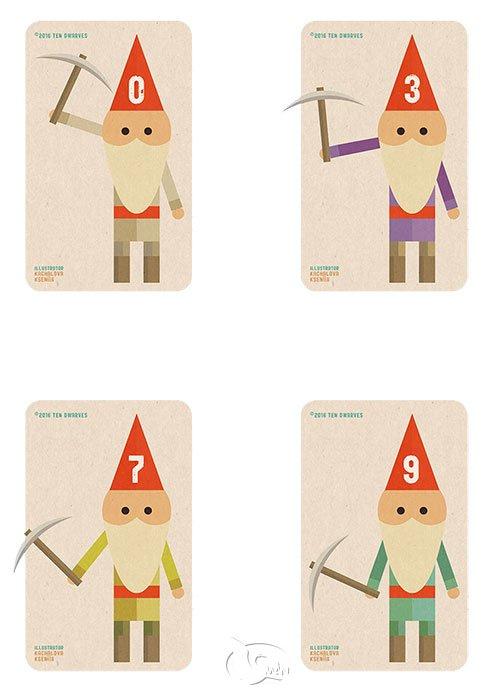 10 Dwarves 矮人十兄弟