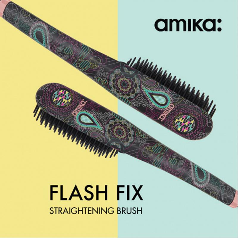 Amika FLASH FIX 數碼熱能造型梳 - Pop Art