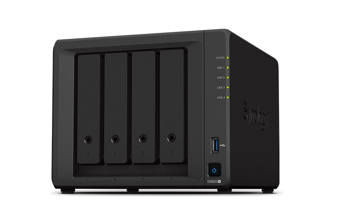 Synology DiskStation DS920+ 漢科行貨 4Bay NAS