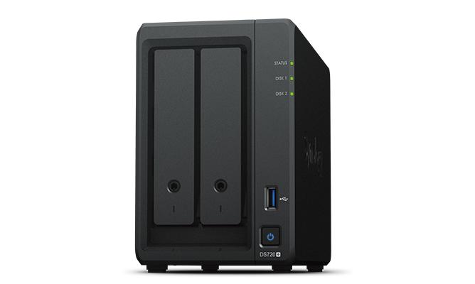 Synology DiskStation DS720+ 漢科行貨 2Bay NAS