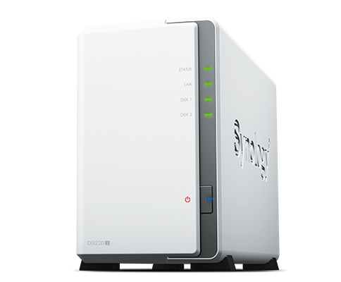 Synology DiskStation DS220J 漢科行貨 2Bay NAS
