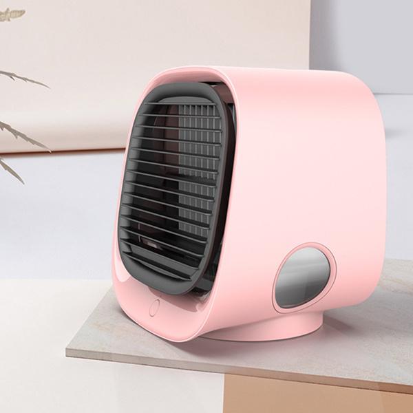 日本JTSK - 迷你便攜式加濕空氣負離子usb風扇冷風機