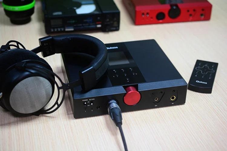 QULOOS QA390移動HiFi無損音樂播放DAC解碼器耳放一體機 [2色]