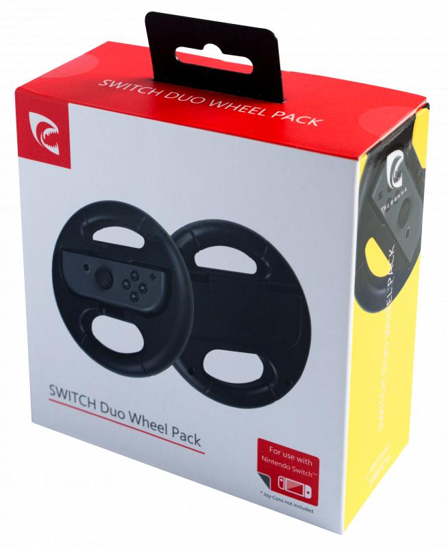 Piranha DUO WHEEL Racing PACK Joy 控制器適用於 Switch