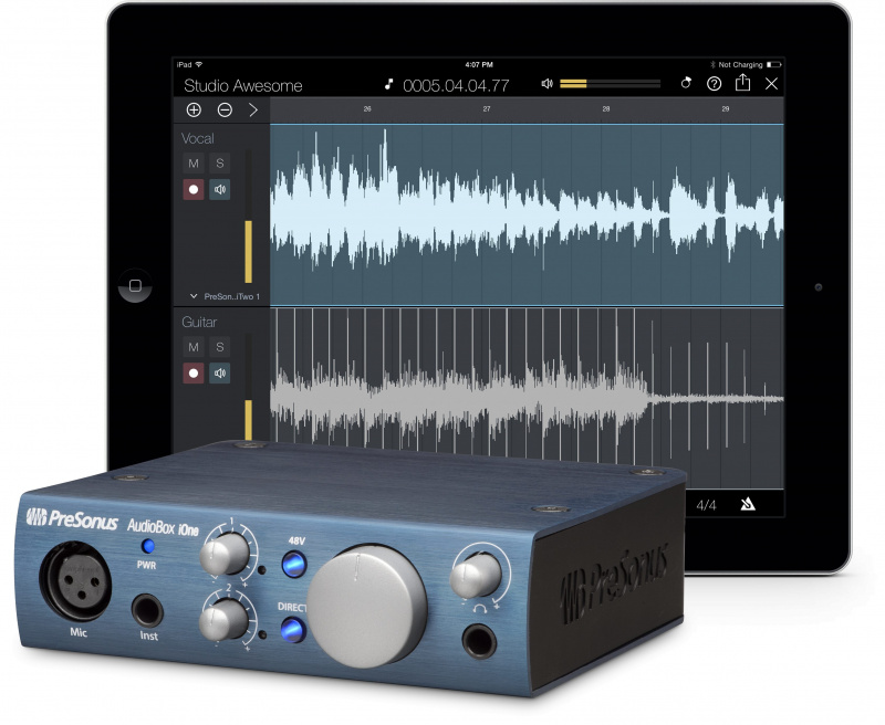 PreSonus AudioBox iOne USB錄音卡