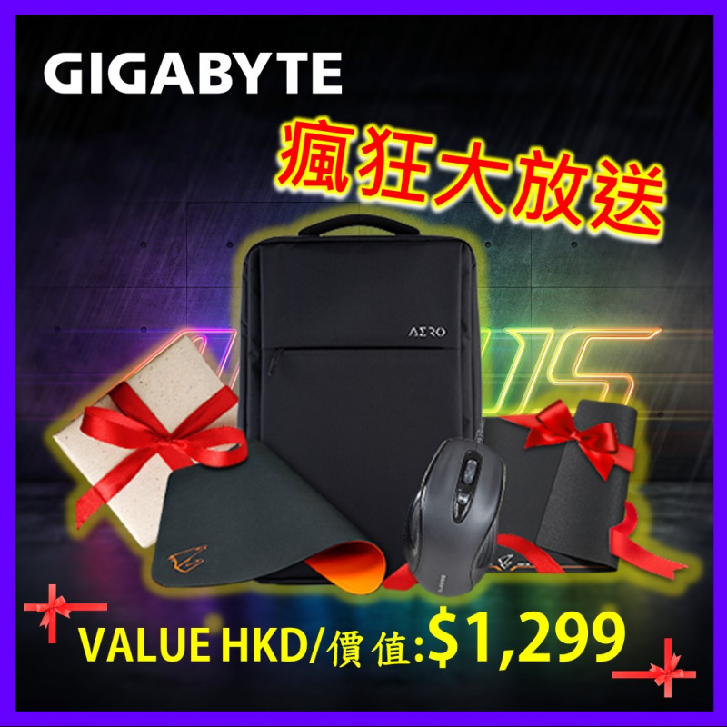 "GIGABYTE AERO 15 OLED KC 4K 15.6""手提電腦( i7-10870H / RTX3060 )"