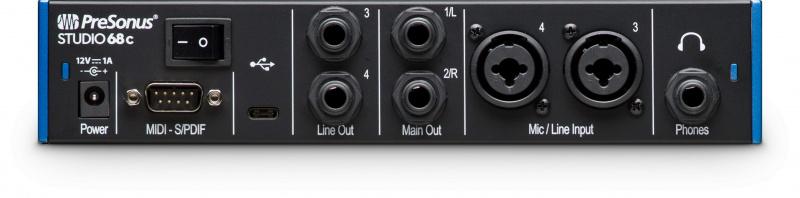 PreSonus Studio 68c 錄音介面