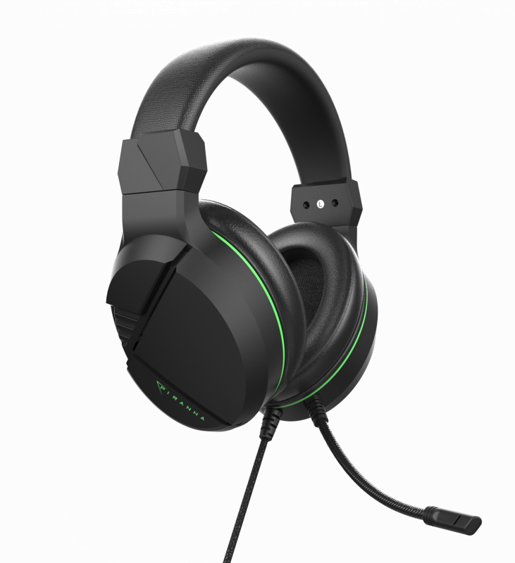 Piranha 麥克風 遊戲耳機 40mm 3.5mm HX40