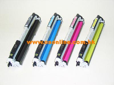 HP 126A CE310A,CE311A,CE312A,CE313A 環保碳粉盒適用型號 :CP1020, CP1025, 1025NW, MFP M175a, M175nw, M275nw