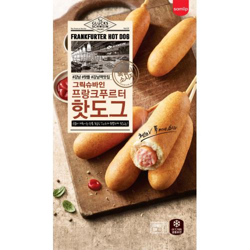 幸運豬門店 - 法蘭克福熱狗 [4條/包]