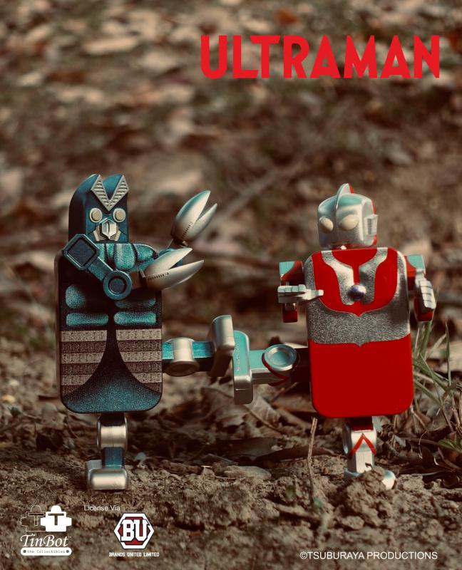 鐵寶奇盒 TinBot - 超人吉田 及 巴魯坦星人 套裝
