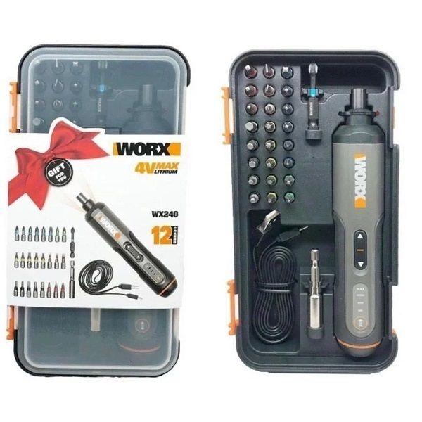 WORX 威克士 電動起子電批 WX240 4V 電動起子電批(4色)