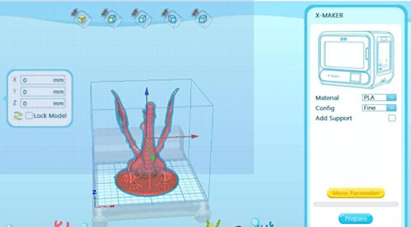 3D 打印費 (每小時)