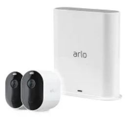 Arlo Pro 3 無線網絡攝影機 2 鏡套裝 (VMS4240P)