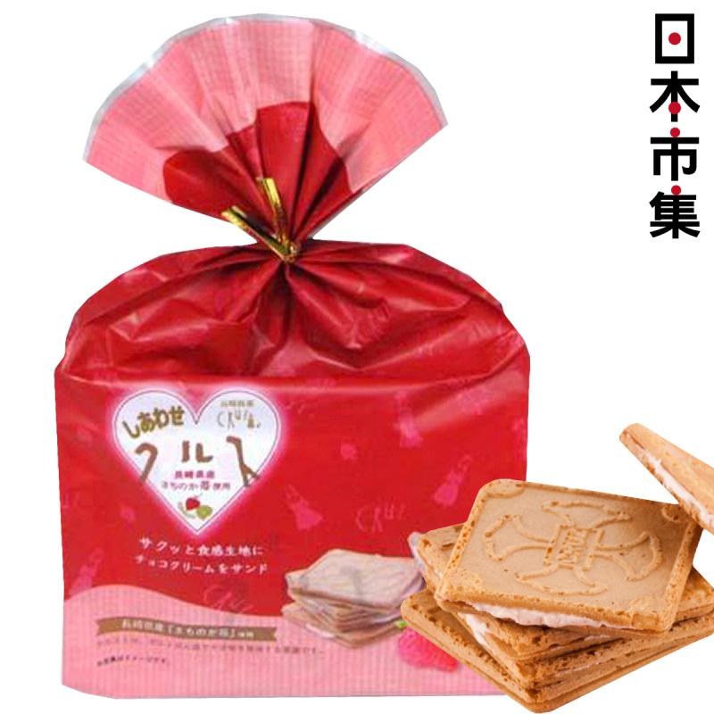 日本 長崎銘菓《十架の光》士多啤梨草莓夾心 獨家工藝餅乾 (1袋6件)【市集世界 - 日本市集】