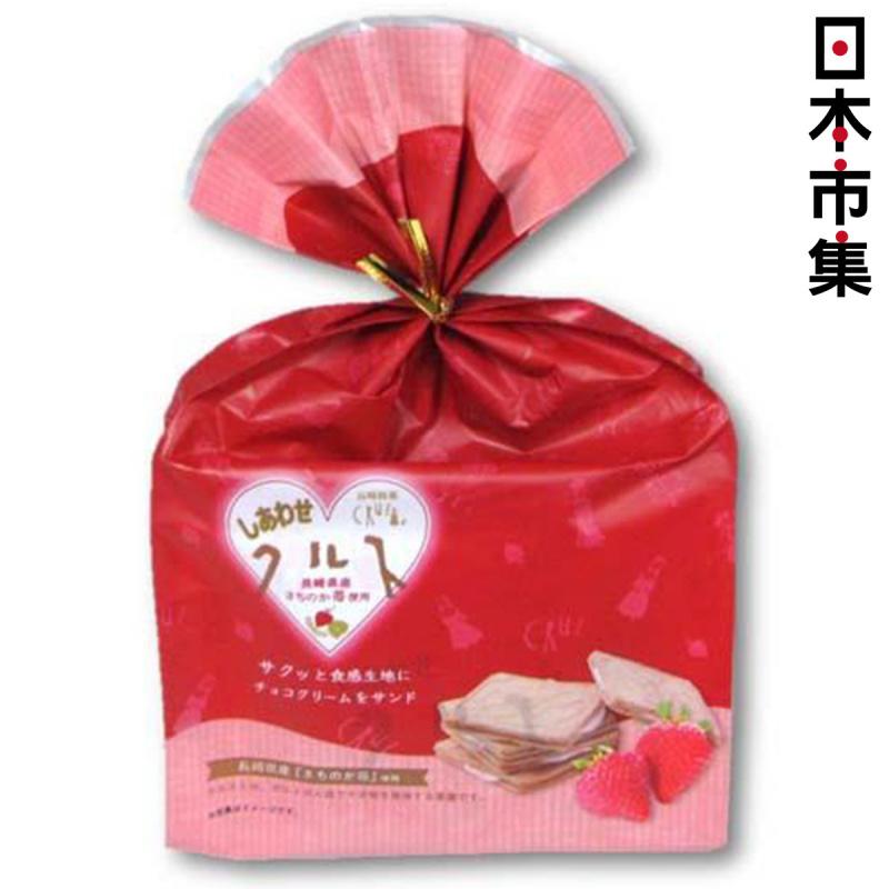 日本【長崎銘菓フタバ】草莓夾心餅乾 6枚【市集世界 - 日本市集】