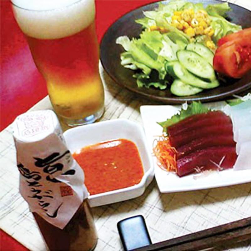 日本【手作工藝】沖繩石垣島 旨い島辣椒醬油 80g【市集世界 - 日本市集】