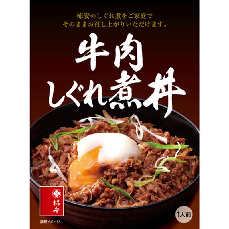 日本 杮安 牛肉時雨煮丼 115g【市集世界 - 日本市集】