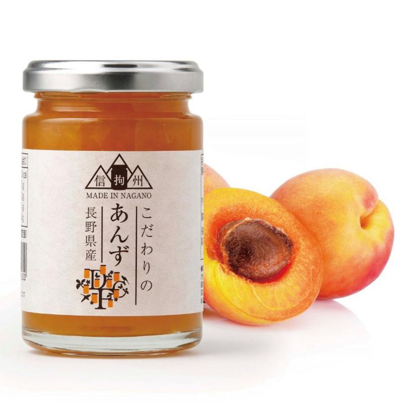 日本【手作工藝】長野縣產 杏桃果醬 145g【市集世界 - 日本市集】