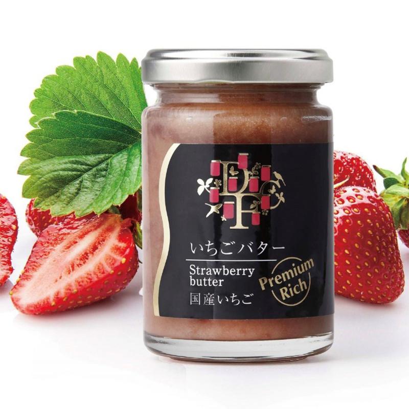 日本【手作工藝】日本產 士多啤梨奶油果醬 140g【市集世界 - 日本市集】