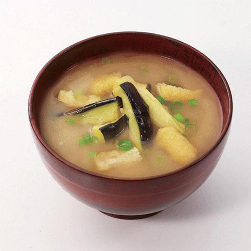 日本【新食代コスモス】無添加 增量即食茄子味噌湯 11.3 g (2件裝)【市集世界 - 日本市集】