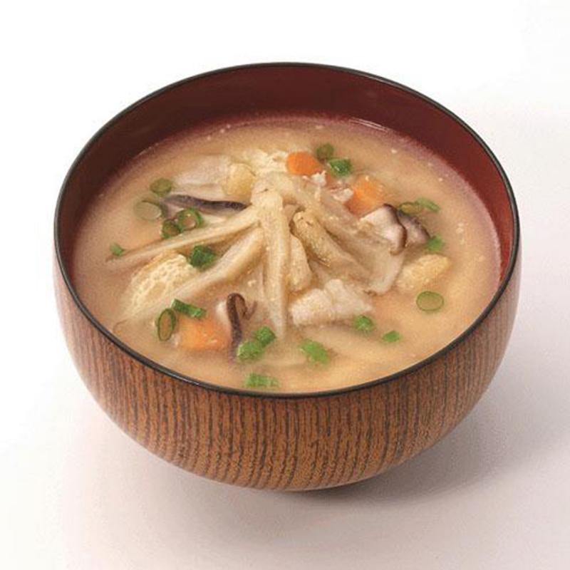 日本【新食代コスモス】無添加 增量即食豚汁味噌湯 14g (2件裝)【市集世界 - 日本市集】