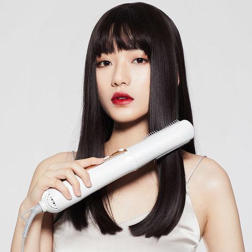 小米 - WellSkins 薇新多功能熱風梳負離子護髮吹髮卷髮直髮梳 WX-FT09