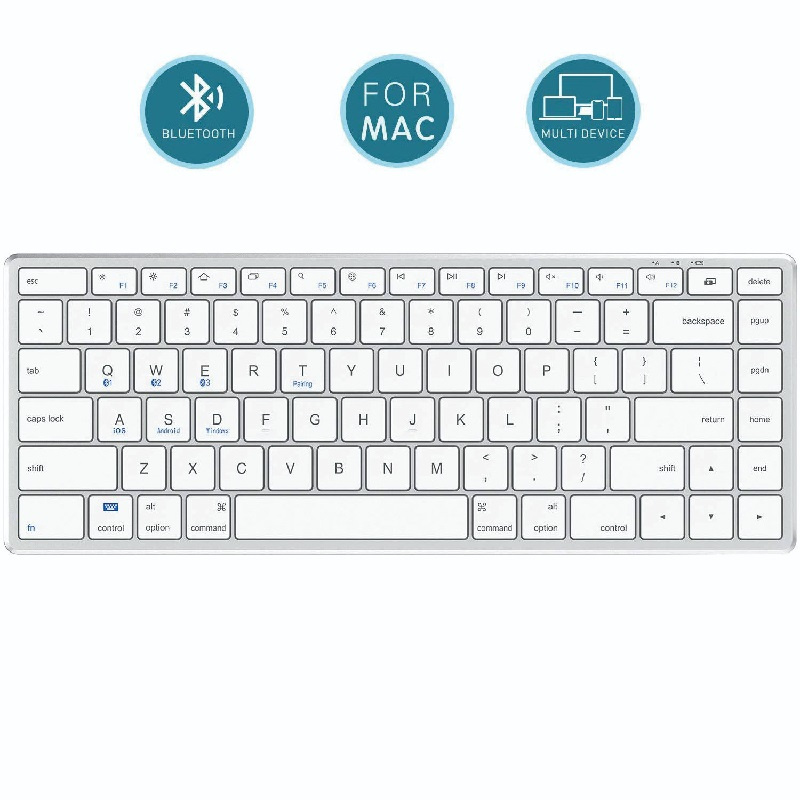 iClever Multi-device Bluetooth Keyboard BK21