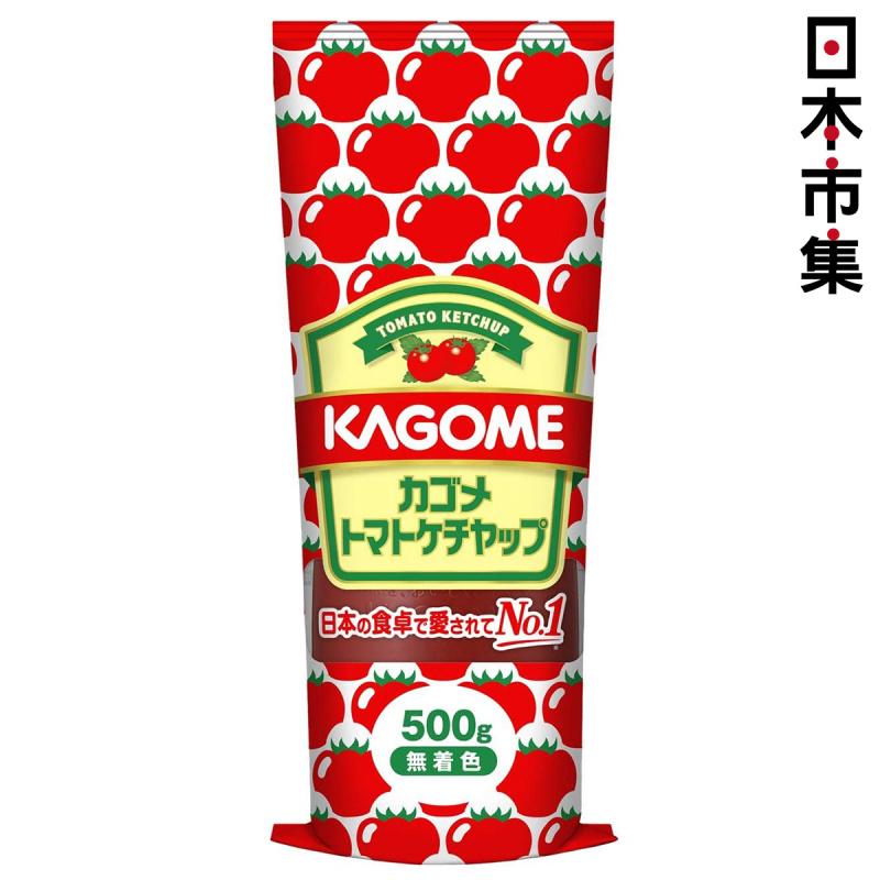 日版Kagome 完熟番茄醬 500g【市集世界 - 日本市集】