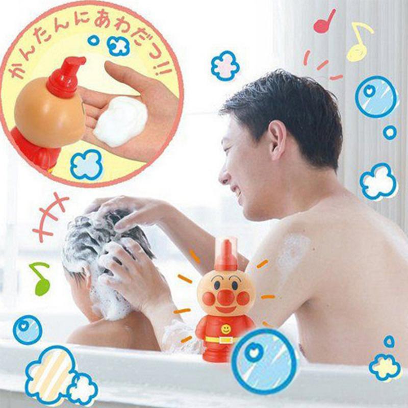 日版Bandai 不澀眼配方麵包超人洗髪水 250ml【市集世界 - 日本市集】