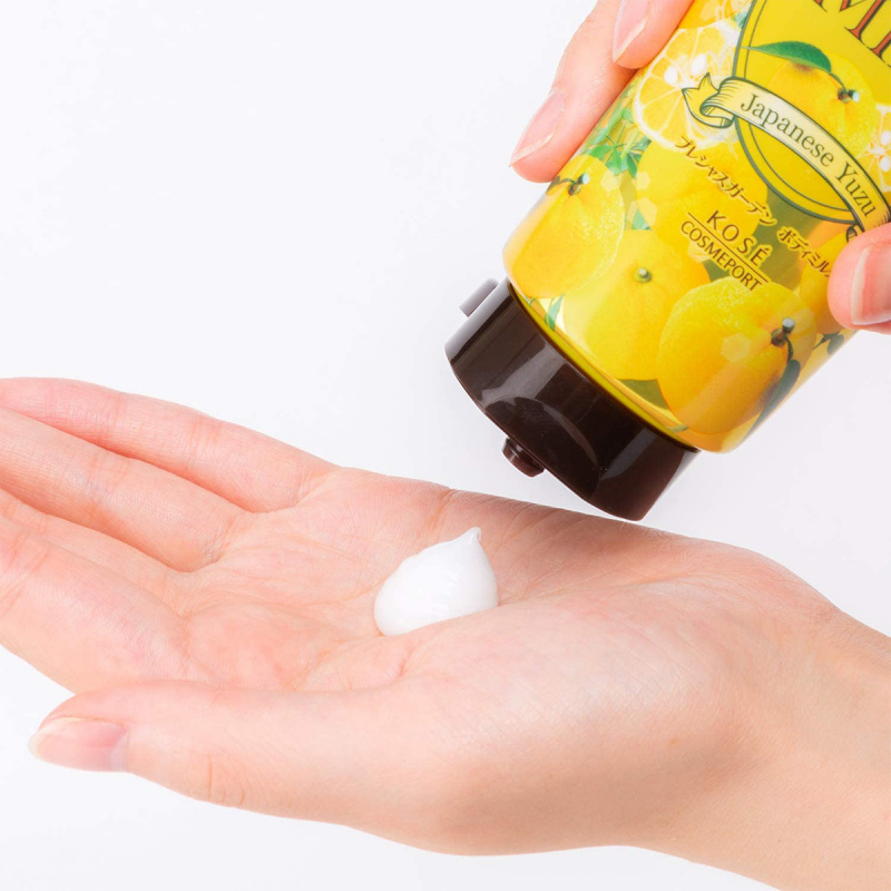 日版Kose 日本柚子 Precious Garden潤膚乳 200g【市集世界 - 日本市集】