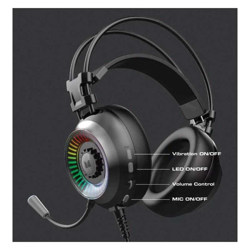 【網店優惠】MONSTER M100S GAMING HEADSET 電競耳罩式耳機