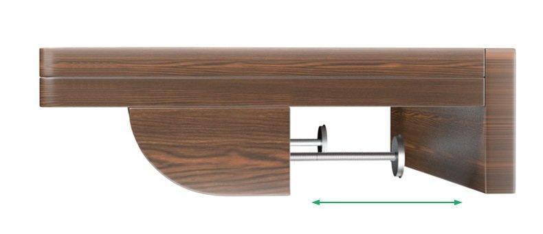 床頭小木架 [松木色]