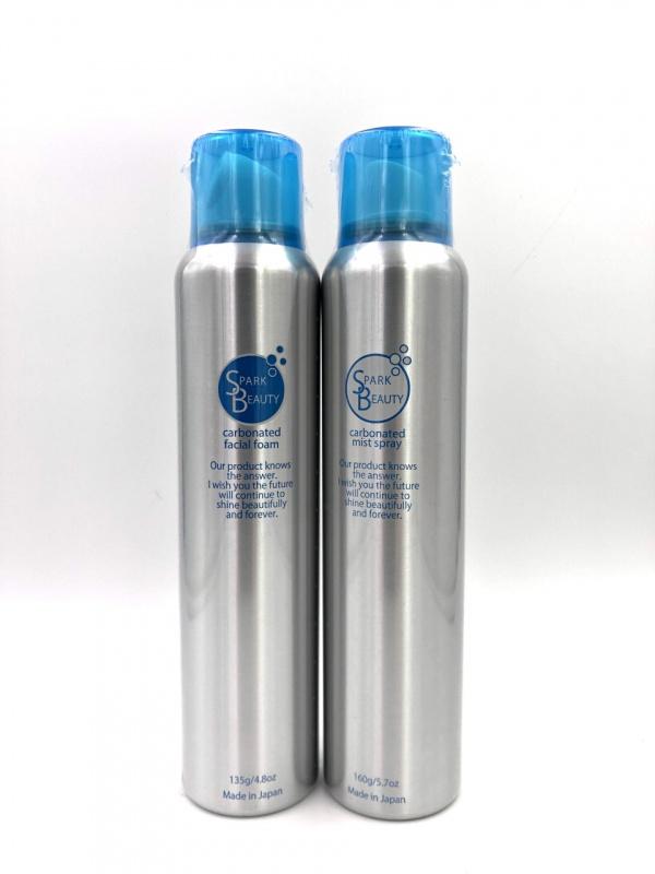 碳酸噴霧160g+碳酸清潔泡泡 135g