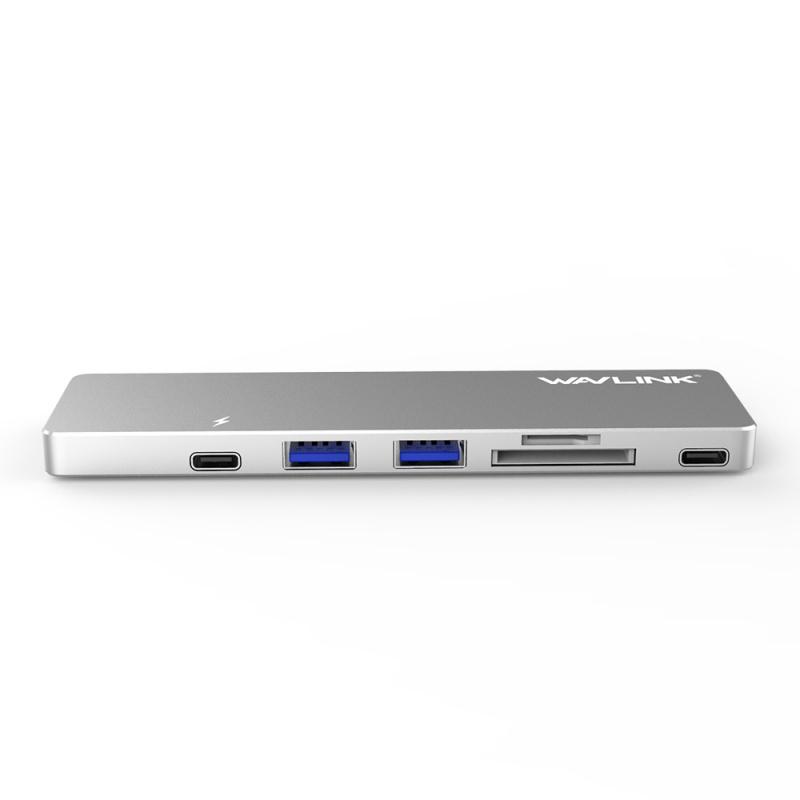 WavLink WL-UHP3405M Thunderbolt 3 USB-C 轉接器