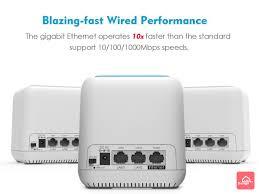 Wavlink HALO Base AC1200 雙頻網狀式路由器 (三件裝)