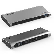 WAVLINK - Thunderbolt™ 3 4K Display Universal Docking Station UTD03/UTD03H