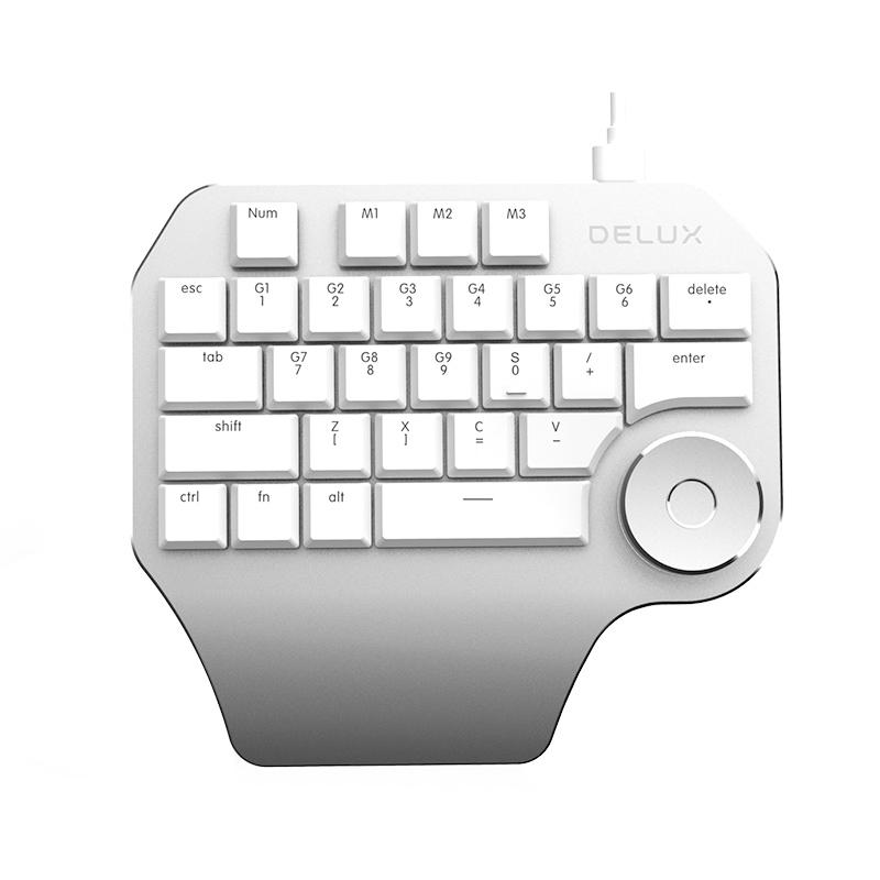 DeLUX T11 Designer 設計師鍵盤 (PC/MAC) [2色]