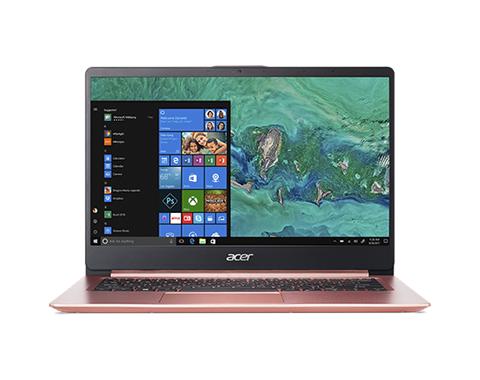 """Acer 14"""" Swift 1 手提電腦 (SF114-32-P5A8) (N5030) 粉紅"""