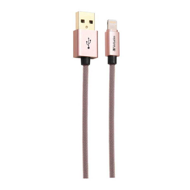 Verbatim 120cm Sync & Charge Step-up Lightning Cable