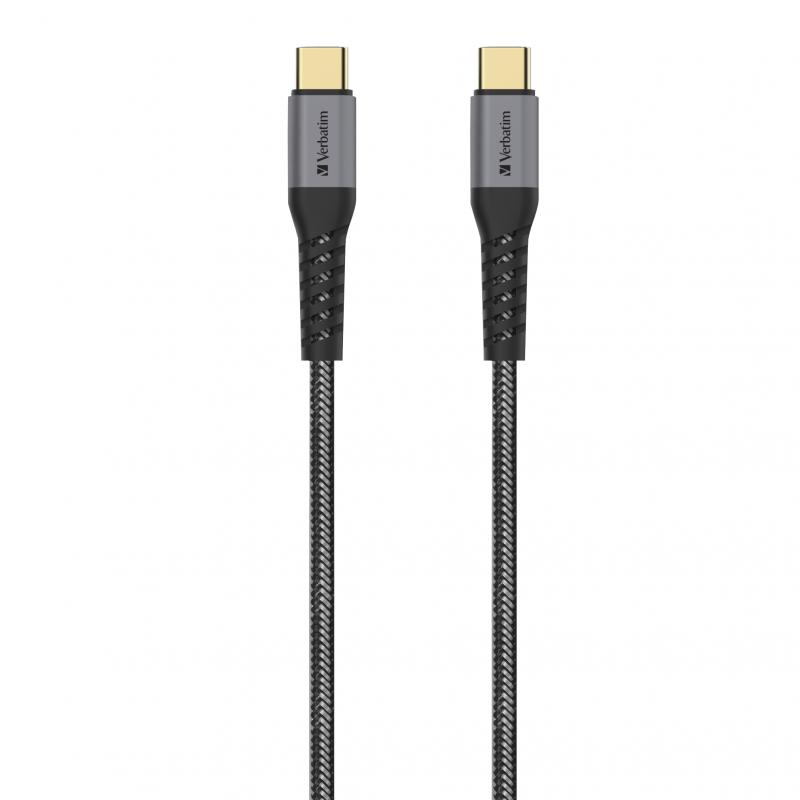 Verbatim Sync & Charge Tough Max Type C to Type C Cable 30cm