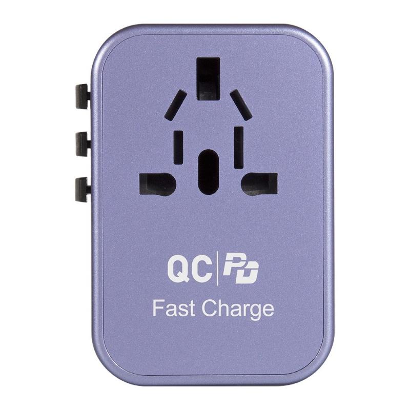 Verbatim 5 Ports 33.5W QC3.0 & PD Travel Adapter