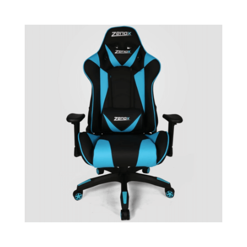 Zenox Z-6015-BLU2 Saturn Racing Chair 土星電競椅 [Sky Blue]