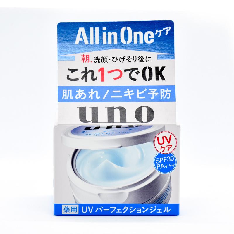 Shiseido 資生堂UNO 男士多效合一控油保濕防曬啫喱面霜(80g)