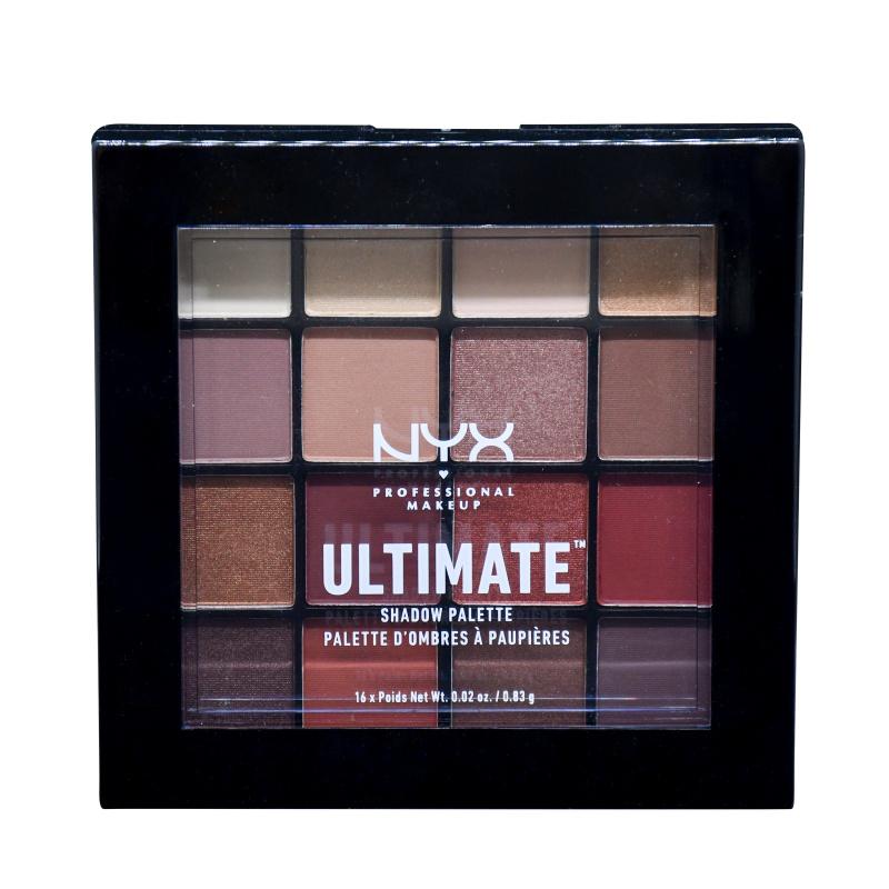 NYX Ultimate Shadow Palette 16色眼影盤 (Warm Neutrals)
