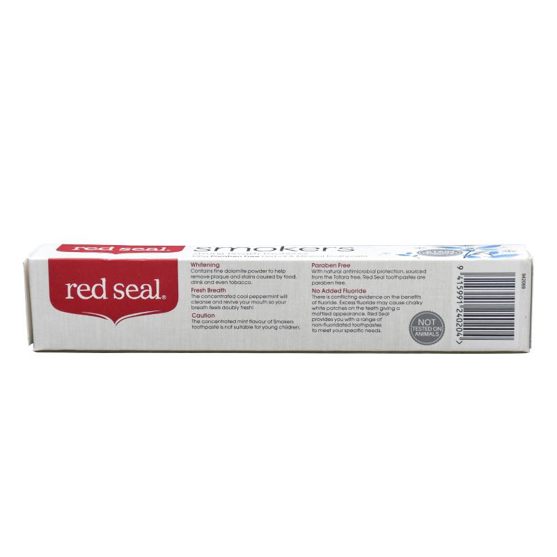 Red Seal紅印 Smokers去烟渍牙膏 (100g)