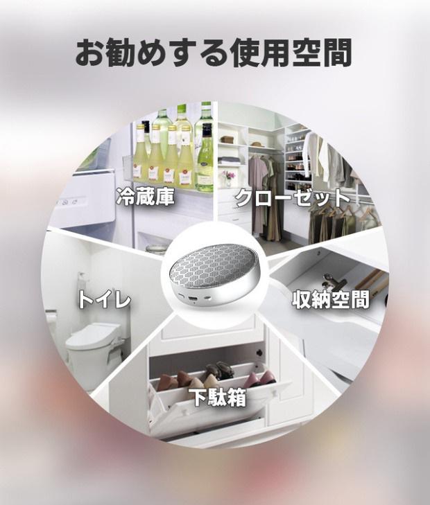 Lunon - 充電式多用途臭氧 殺菌除臭機