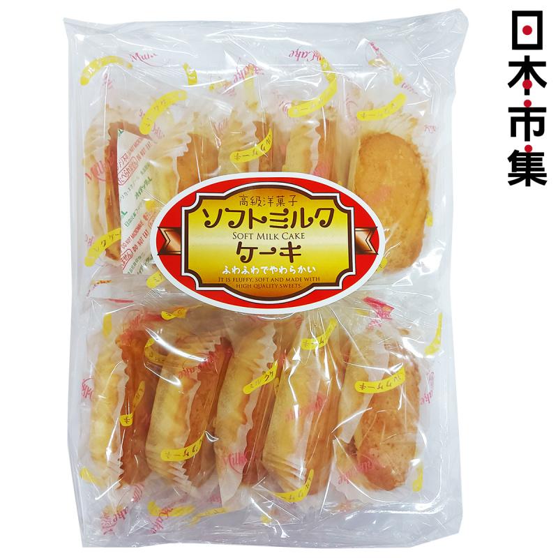 日本 丸三玉木屋 長野縣 軟牛奶蛋糕 10件【市集世界 - 日本市集】